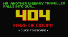 404 Maze of Doom